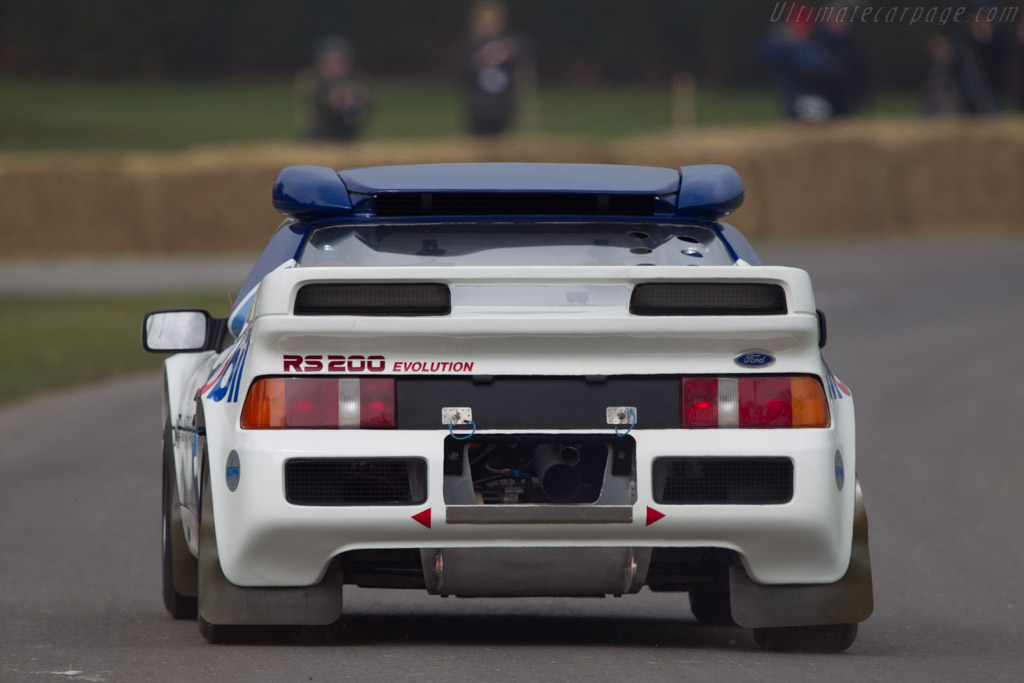 Ford RS 200    - 2013 Goodwood Preview