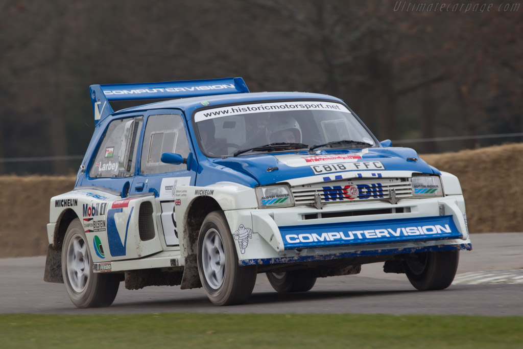 MG Metro 6R4    - 2013 Goodwood Preview