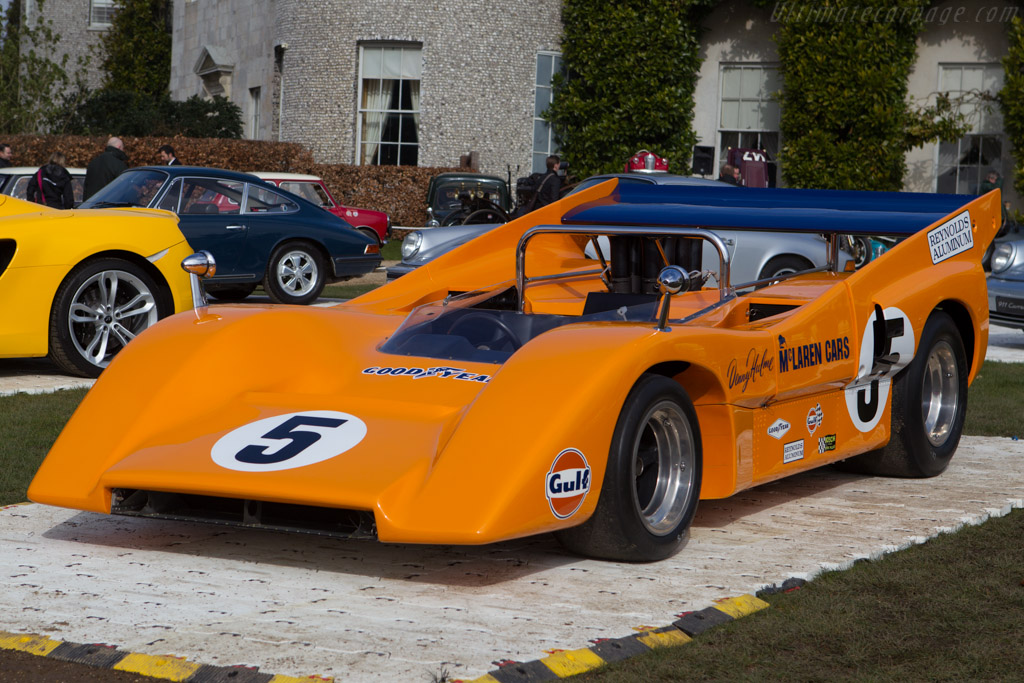McLaren M8D Chevrolet - Chassis: M8D/1   - 2013 Goodwood Preview