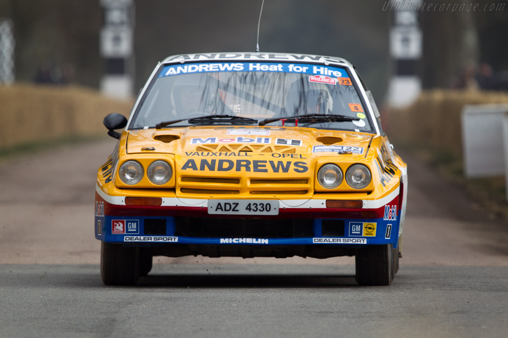 Opel Manta 400    - 2013 Goodwood Preview