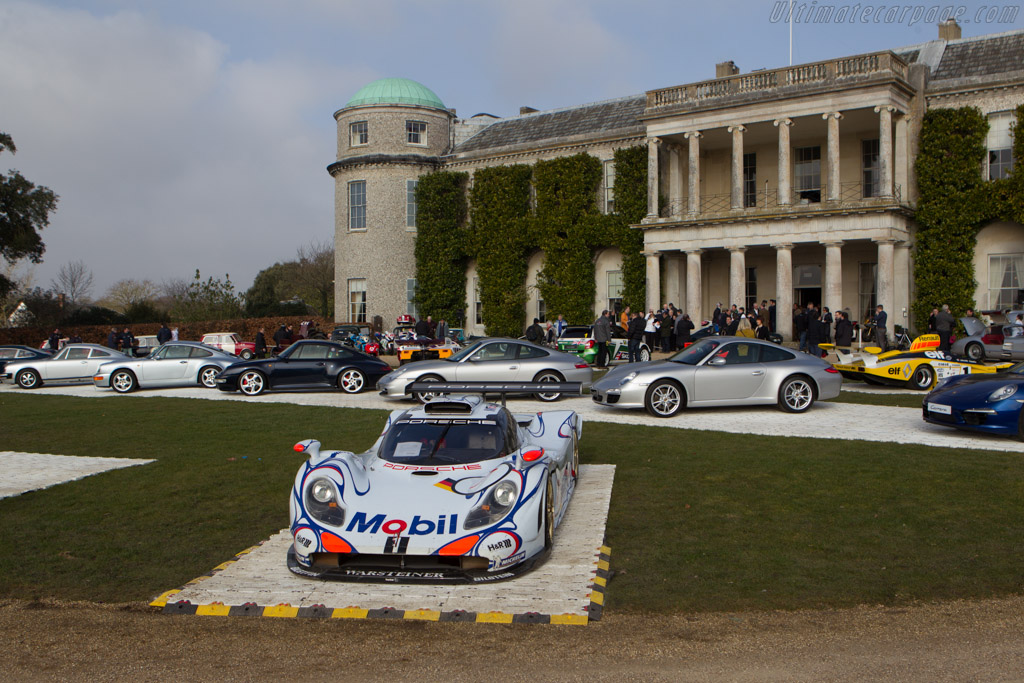 Porsche 911 GT1 EVO '98 - Chassis: GT1/98-004   - 2013 Goodwood Preview