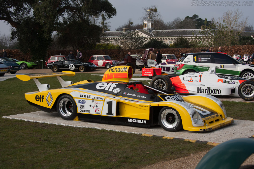 Renault-Alpine A443 - Chassis: 443/0   - 2013 Goodwood Preview
