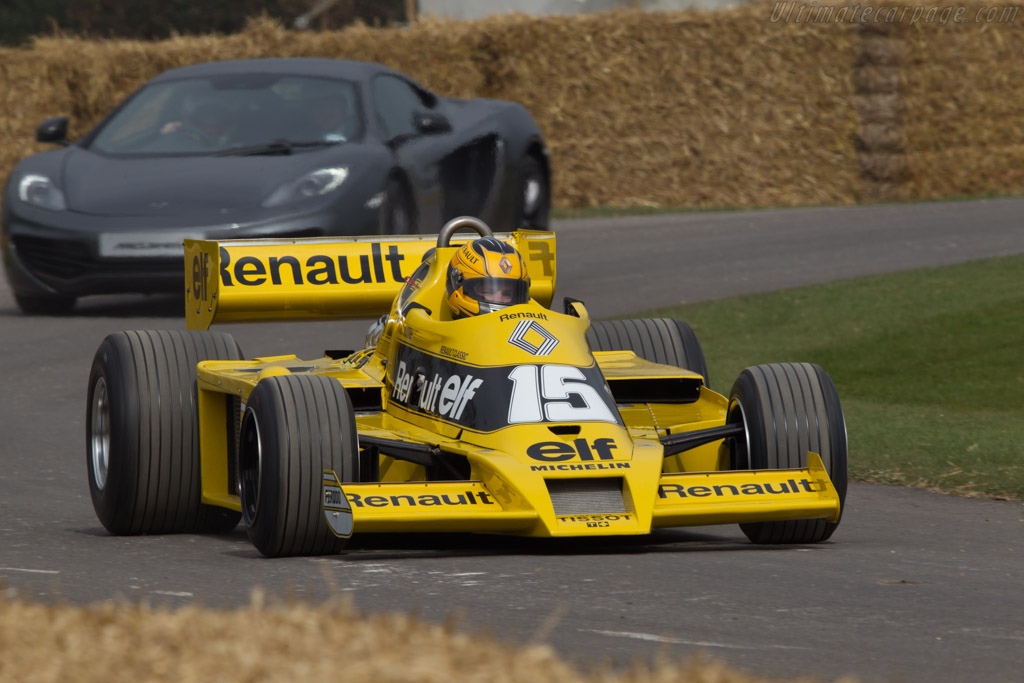 Renault RS01 - Chassis: RS 01/04   - 2013 Goodwood Preview