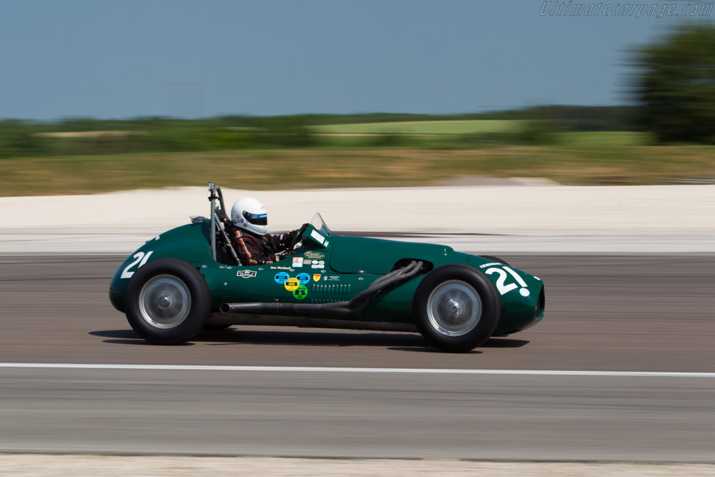 Alfa F2 - Chassis: 5 - Driver: Ian Nuthall  - 2015 Grand Prix de l'Age d'Or