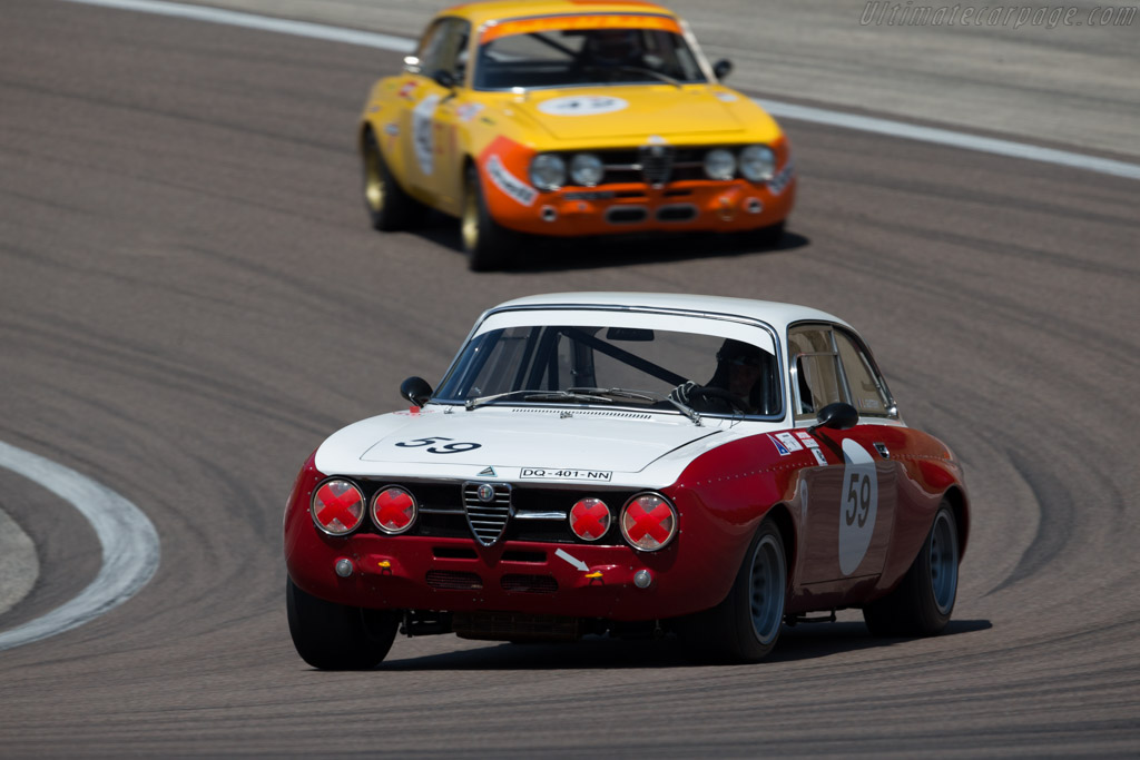 Alfa Romeo 1750 GTAm - Chassis: 1368261 - Driver: Lucien Guitteny  - 2015 Grand Prix de l'Age d'Or