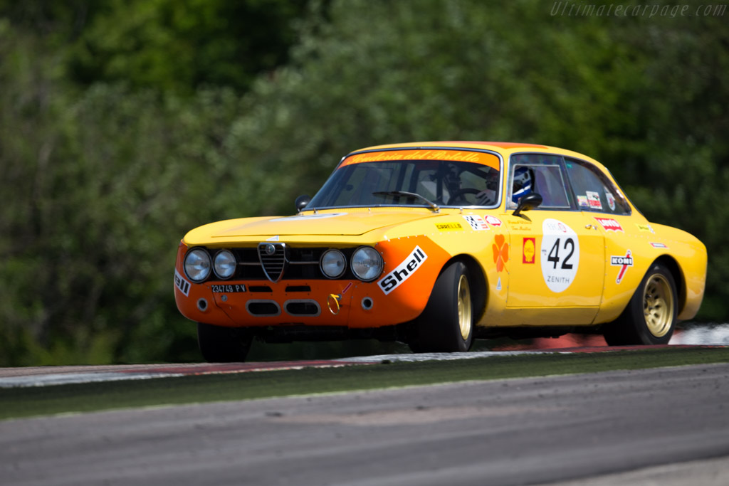 Alfa Romeo 1750 GTAm - Chassis: 1383977 - Driver: Patrick Wilwert / Tom Mailliet  - 2015 Grand Prix de l'Age d'Or