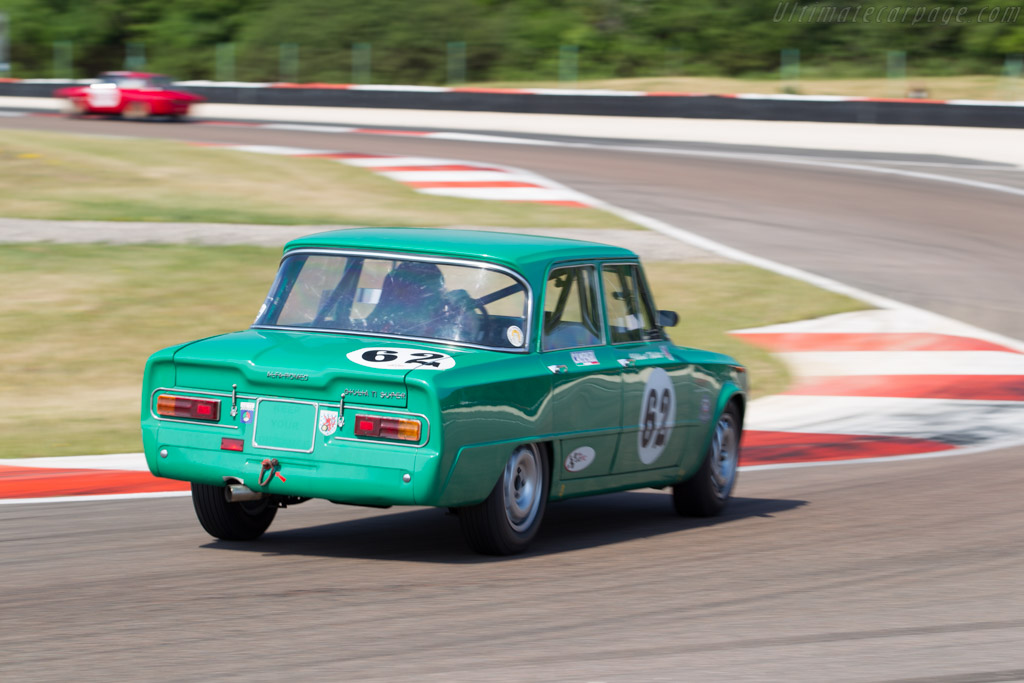 Alfa Romeo TI Super - Chassis: AR595500 - Driver: Patrick Wilwert / Tom Mailliet  - 2015 Grand Prix de l'Age d'Or