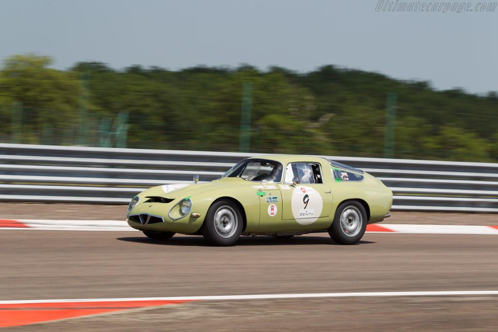 Alfa Romeo TZ - Chassis: AR750017 - Driver: Yves Vogele / Alain Vogele  - 2015 Grand Prix de l'Age d'Or