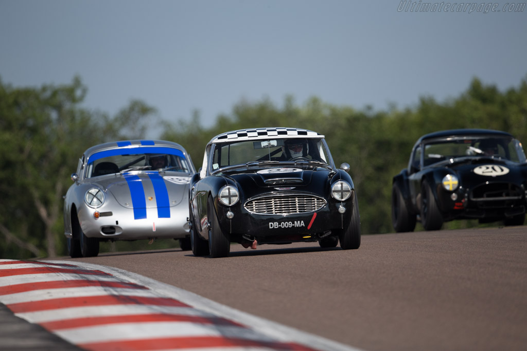 austin healey 3000 driver alain ollevier philippe. Black Bedroom Furniture Sets. Home Design Ideas