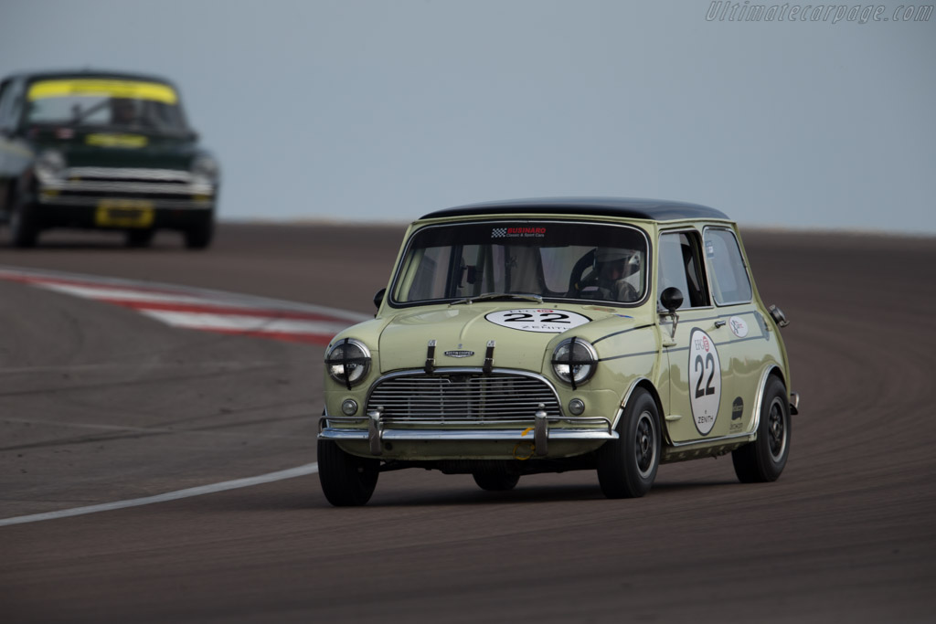 Austin Mini Cooper S - Chassis: CA2S7761960 - Driver: Michel Wanty / Marc Valvekens  - 2015 Grand Prix de l'Age d'Or