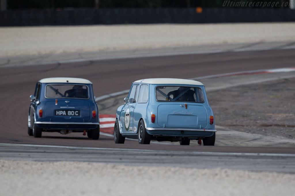 Austin Mini Cooper S - Chassis: A2S7D162298M - Driver: William Ward  - 2015 Grand Prix de l'Age d'Or