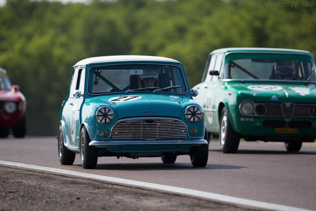 Austin Mini Cooper S - Chassis: CA2S7675822 - Driver: Andrea Stortoni  - 2015 Grand Prix de l'Age d'Or