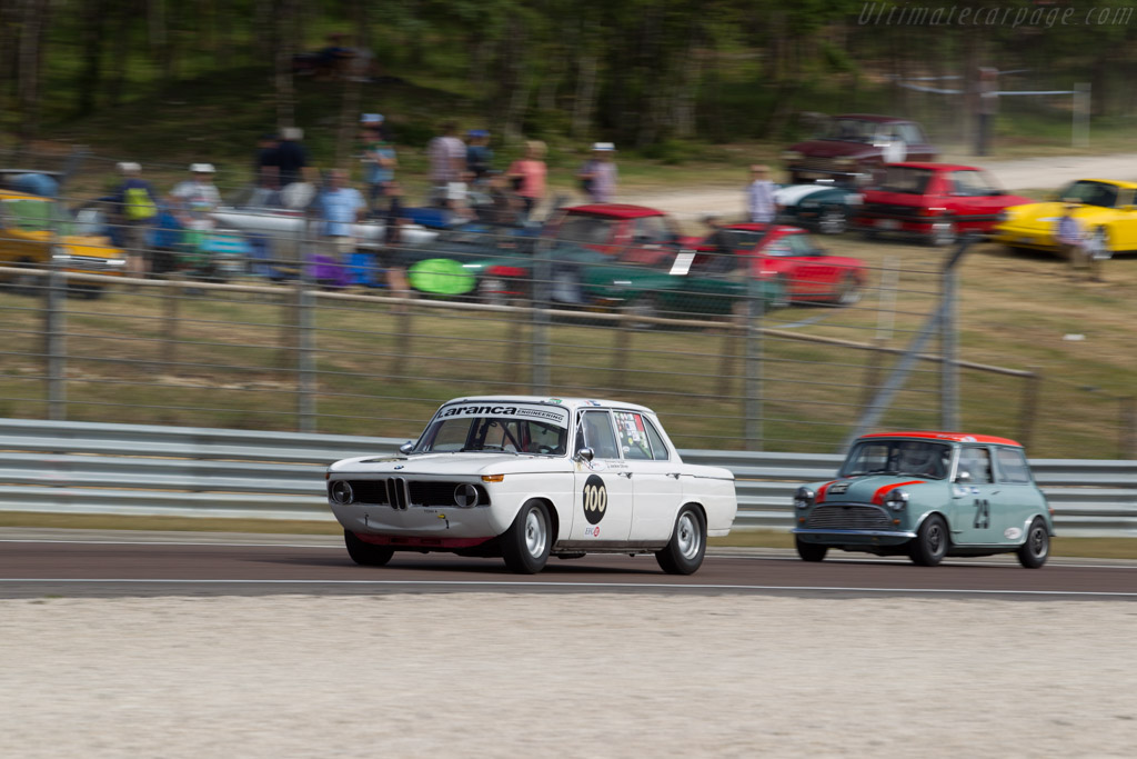 BMW 1800 TiSA - Chassis: 995193 - Driver: Richard Shaw / Jackie Oliver  - 2015 Grand Prix de l'Age d'Or