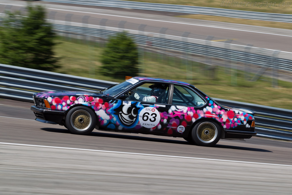 BMW 635 CSi  - Driver: Ronald Basso / Jean-Claude Basso  - 2015 Grand Prix de l'Age d'Or