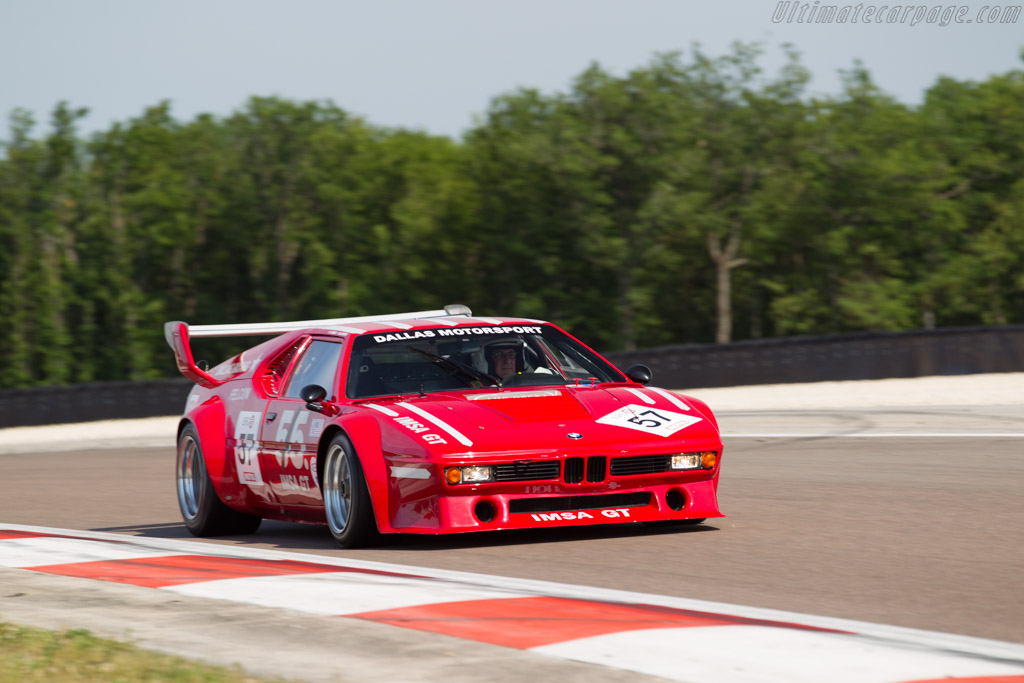 BMW M1 Group 4 - Chassis: 4301302 - Driver: Amaury Latham / Christian Baud  - 2015 Grand Prix de l'Age d'Or