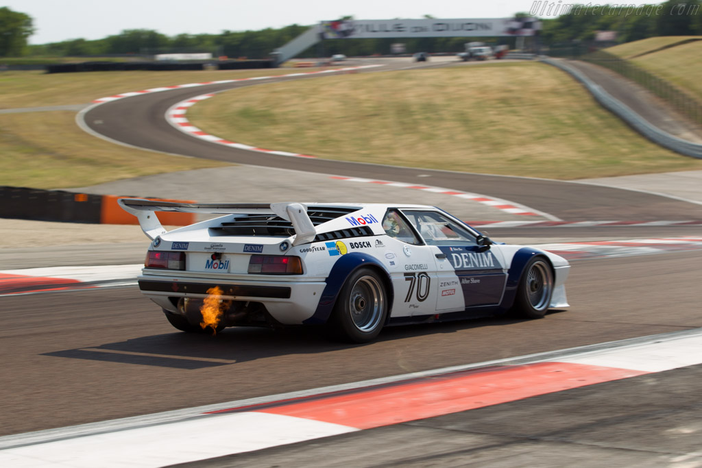 BMW M1 Group 4 - Chassis: 4301040 - Driver: Robert Boos / Pascal Goury  - 2015 Grand Prix de l'Age d'Or