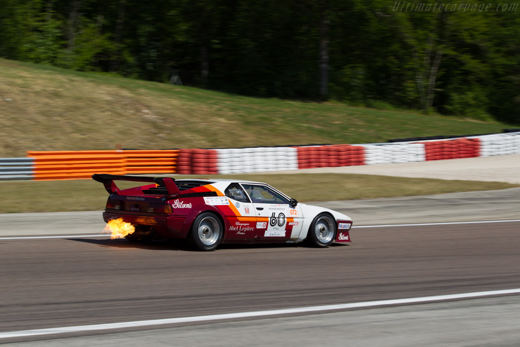 BMW M1 Group 4 - Chassis: 4301063 - Driver: Christian Traber / Peter Mulder  - 2015 Grand Prix de l'Age d'Or