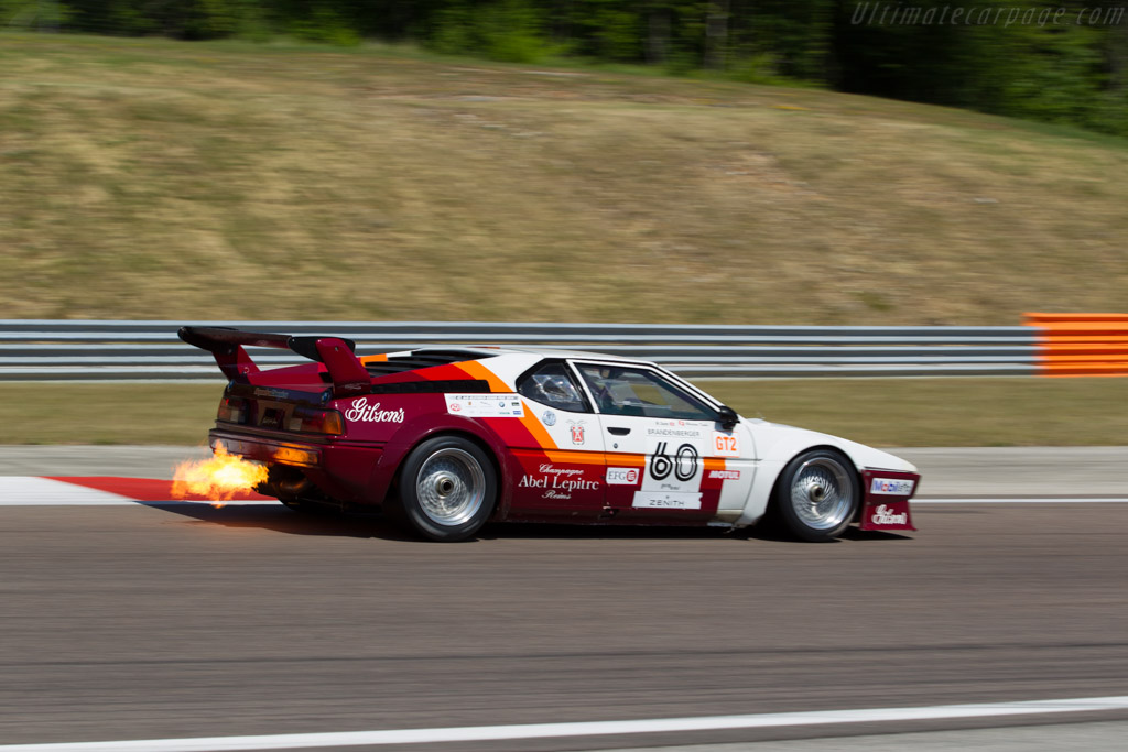 Bmw M1 Group 4 Chassis 4301063 Driver Christian