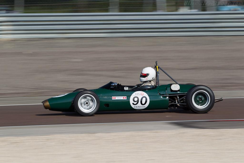 Brabham BT16 - Chassis: BT3-16-65 - Driver: Angelo Delea  - 2015 Grand Prix de l'Age d'Or