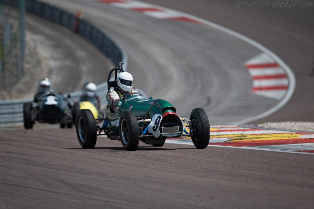 Cooper Bristol Mk1 - Chassis: CBI-3-52 - Driver: David Wenman  - 2015 Grand Prix de l'Age d'Or