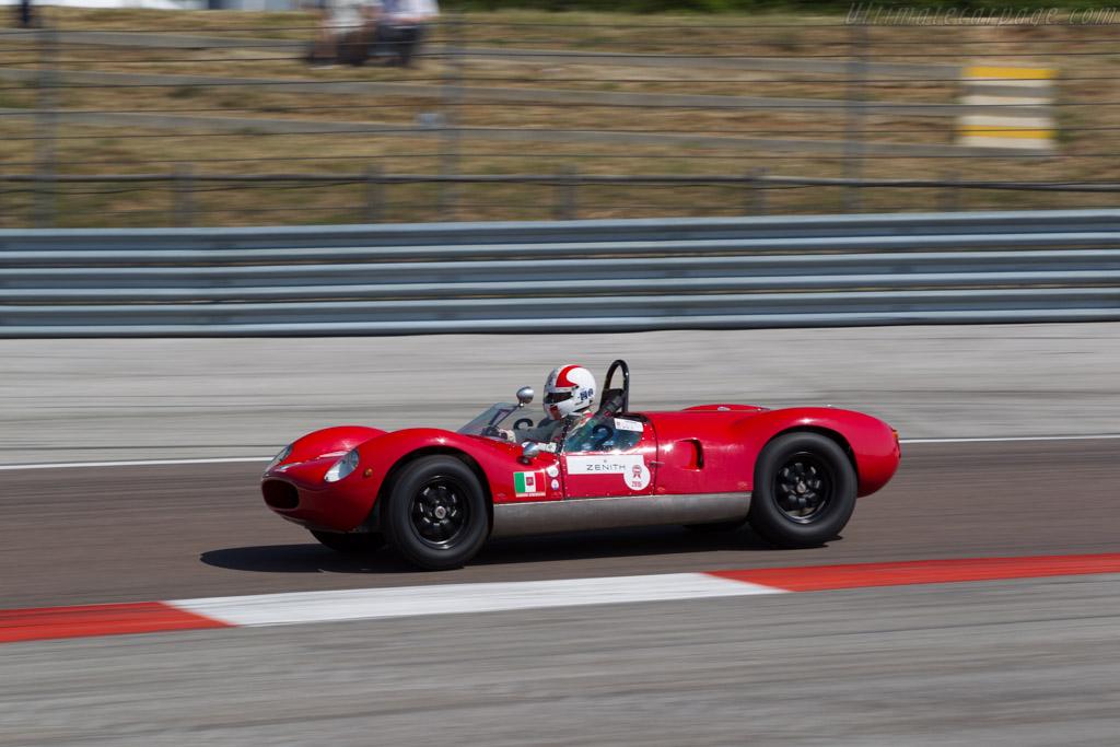Cooper T49 Maserati - Chassis: CM-5-59 - Driver: Egon Hofer  - 2015 Grand Prix de l'Age d'Or