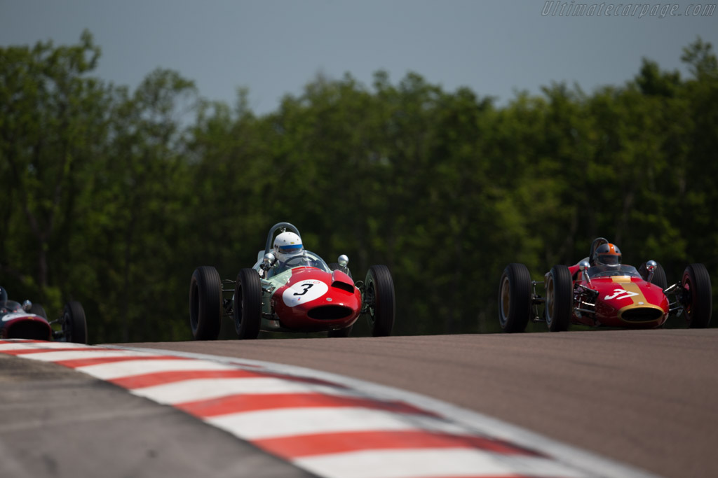 Cooper T51 - Chassis: F2-1-59 - Driver: Barry Cannell  - 2015 Grand Prix de l'Age d'Or