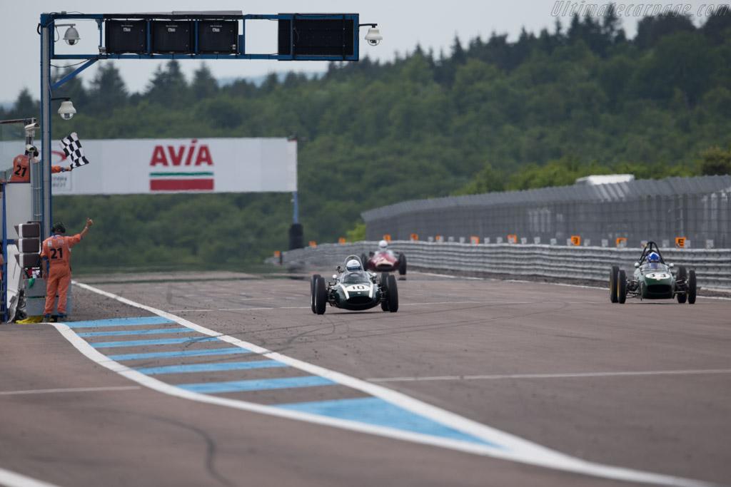 Cooper T53  - Driver: Will Nuthall  - 2015 Grand Prix de l'Age d'Or