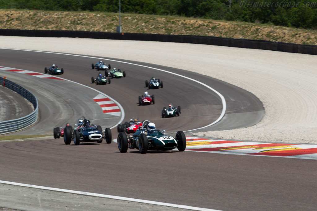 Cooper T53  - Driver: Will Nuthall  - 2015 Grand Prix de l'Age d'Or