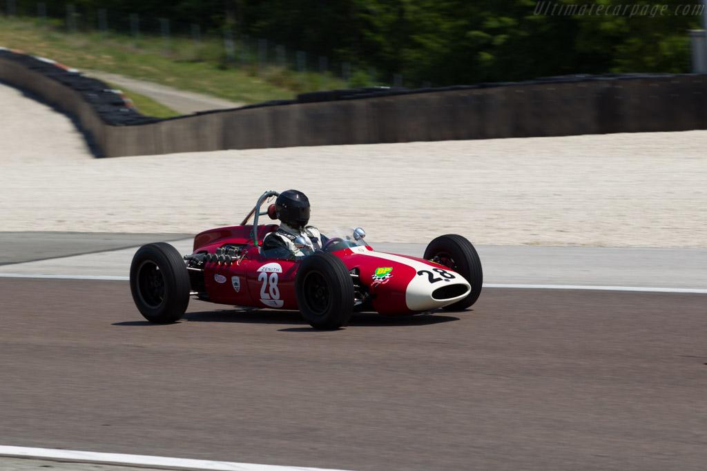 Cooper T56/59 Alfa Romeo  - Driver: Anthony Goddard  - 2015 Grand Prix de l'Age d'Or