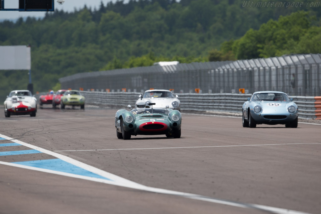 Cooper T61 Maserati - Chassis: 151-010 - Driver: Michael O'Shea  - 2015 Grand Prix de l'Age d'Or