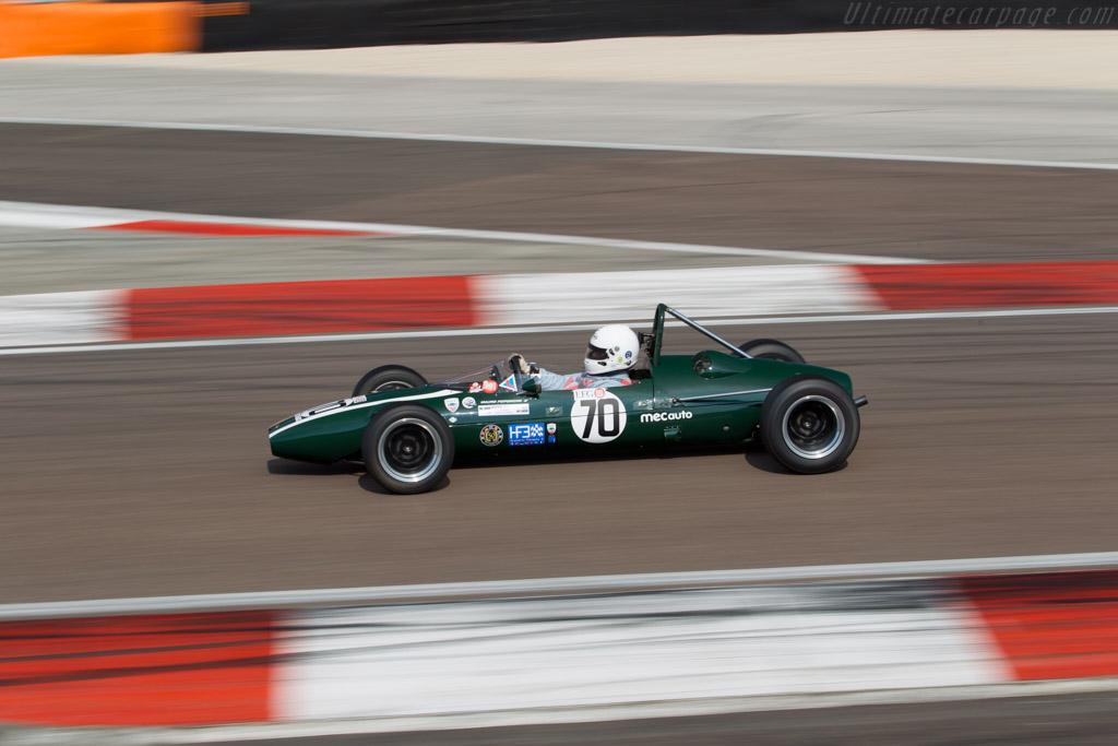Cooper T76 - Chassis: F3-15-65 - Driver: Mauro Poponcini  - 2015 Grand Prix de l'Age d'Or