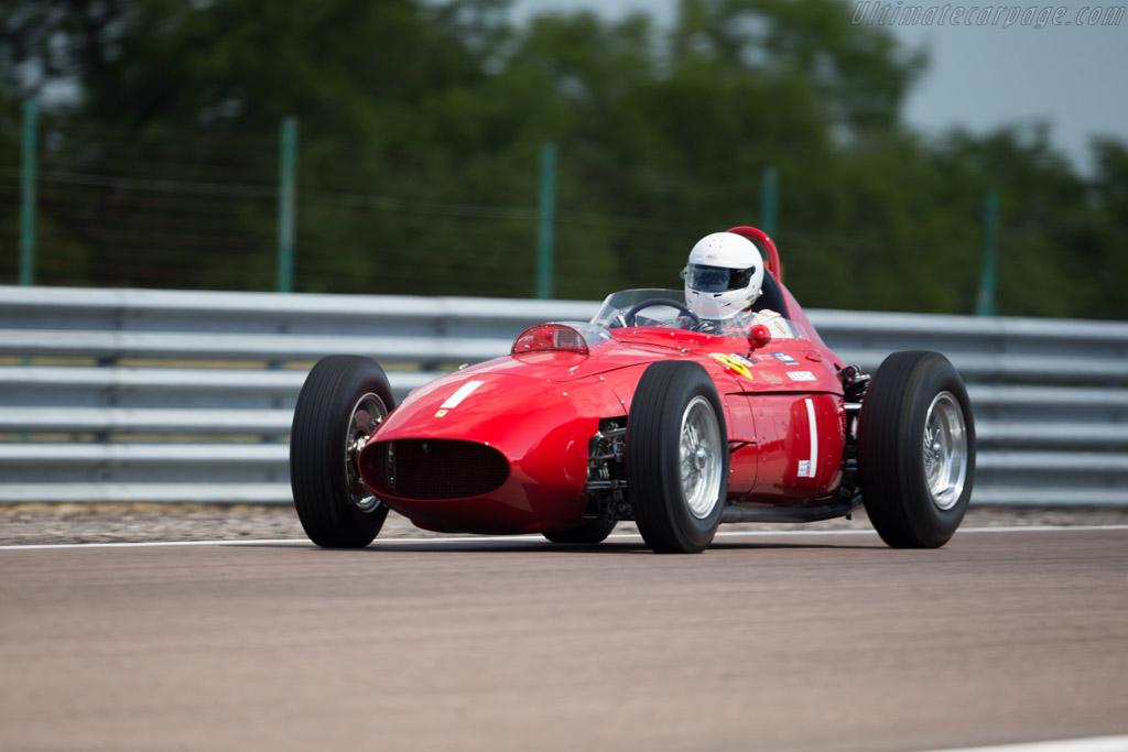 Ferrari 246 Dino F1 - Chassis: 0007 - Driver: Tony Smith  - 2015 Grand Prix de l'Age d'Or