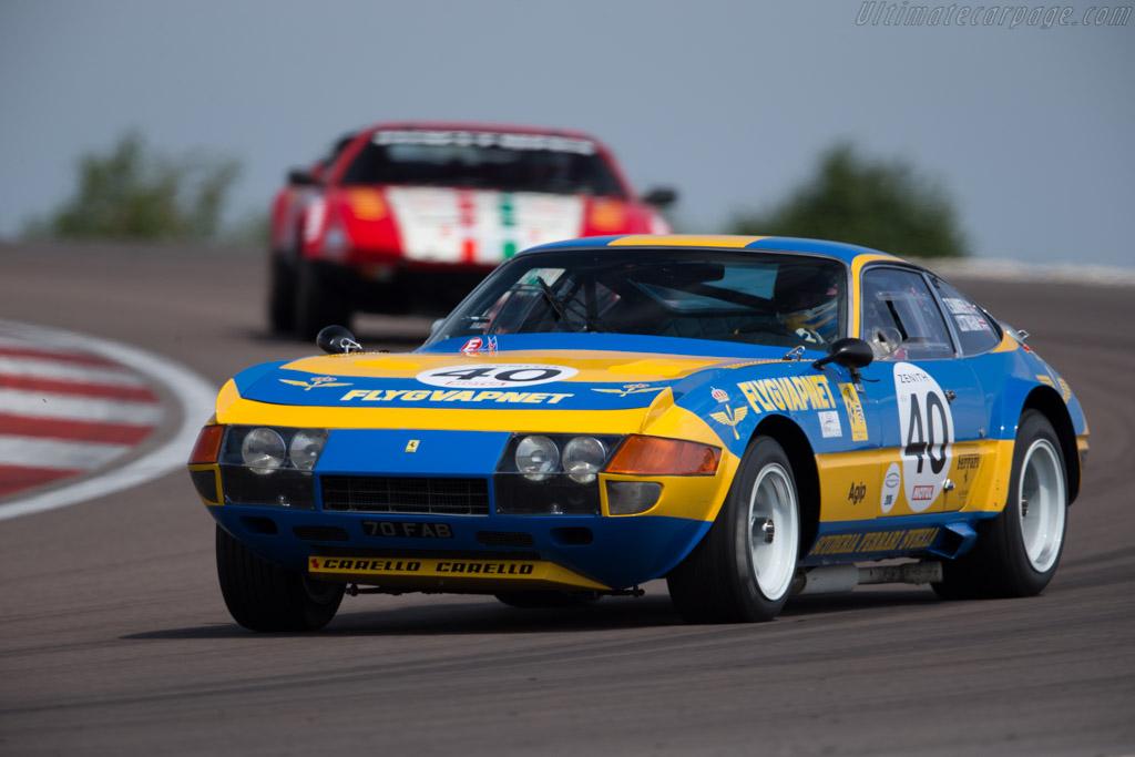 Ferrari 365 GTB/4 Daytona - Chassis: 13219 - Driver: Tim Summers / James Cottingham  - 2015 Grand Prix de l'Age d'Or