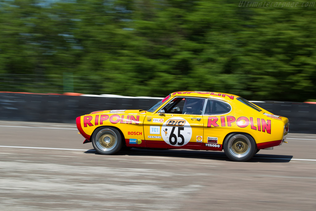 Ford Capri RS 2600 - Chassis: GAECLE42482 - Driver: Yvan Mahé / Geoffrey Peter  - 2015 Grand Prix de l'Age d'Or