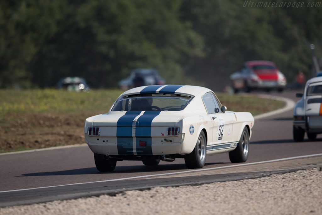 Ford Shelby Mustang GT350  - Driver: Dominique Vananty / Olivier de Siebenthal  - 2015 Grand Prix de l'Age d'Or