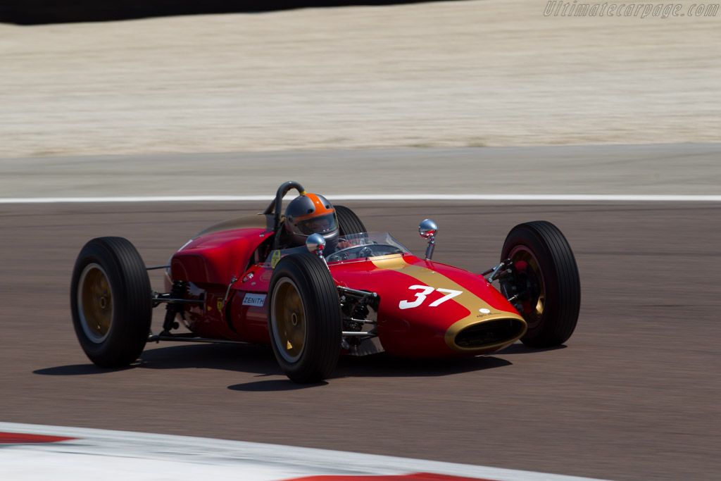 Heron F1 - Chassis: 1 - Driver: Eddy Perk  - 2015 Grand Prix de l'Age d'Or