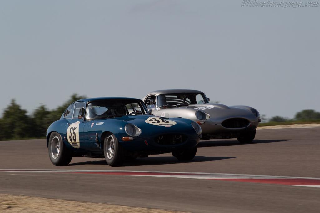 Jaguar E-Type - Chassis: 888169 - Driver: Siamak Siassi / Wolfgang Kaufmann  - 2015 Grand Prix de l'Age d'Or