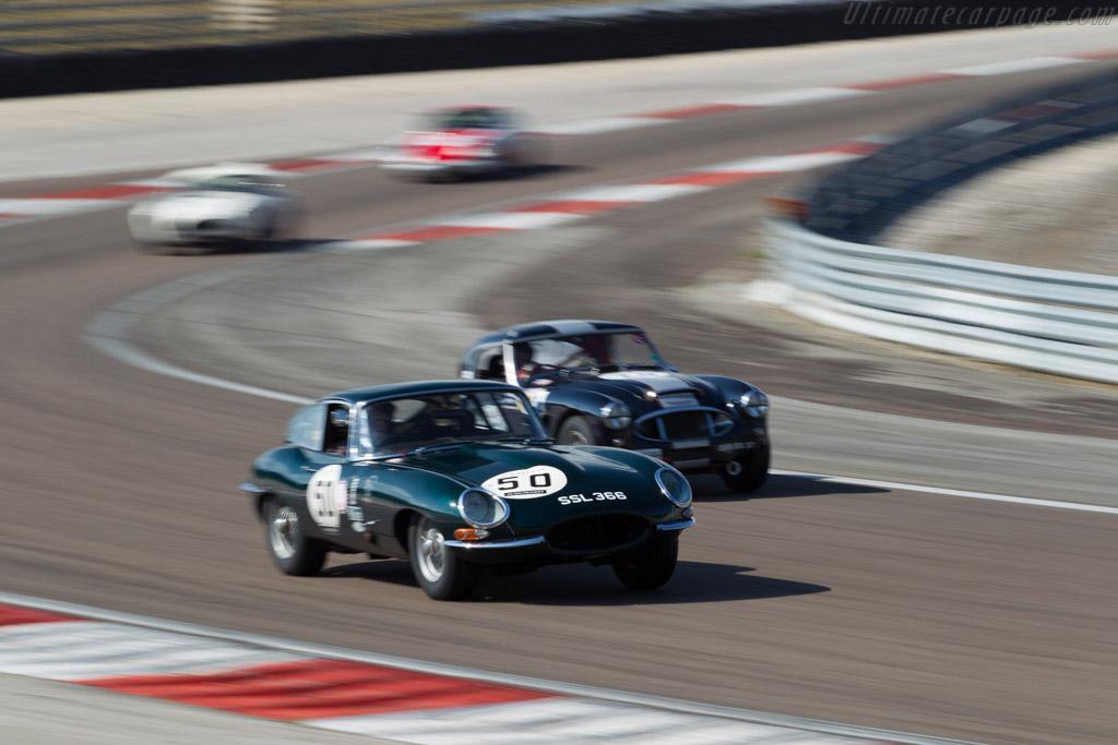 Jaguar E-Type - Chassis: 885342 - Driver: David Hall / Michael O'Shea  - 2015 Grand Prix de l'Age d'Or