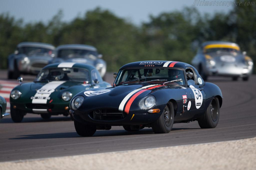Jaguar E-Type  - Driver: Charles Villaucourt  - 2015 Grand Prix de l'Age d'Or