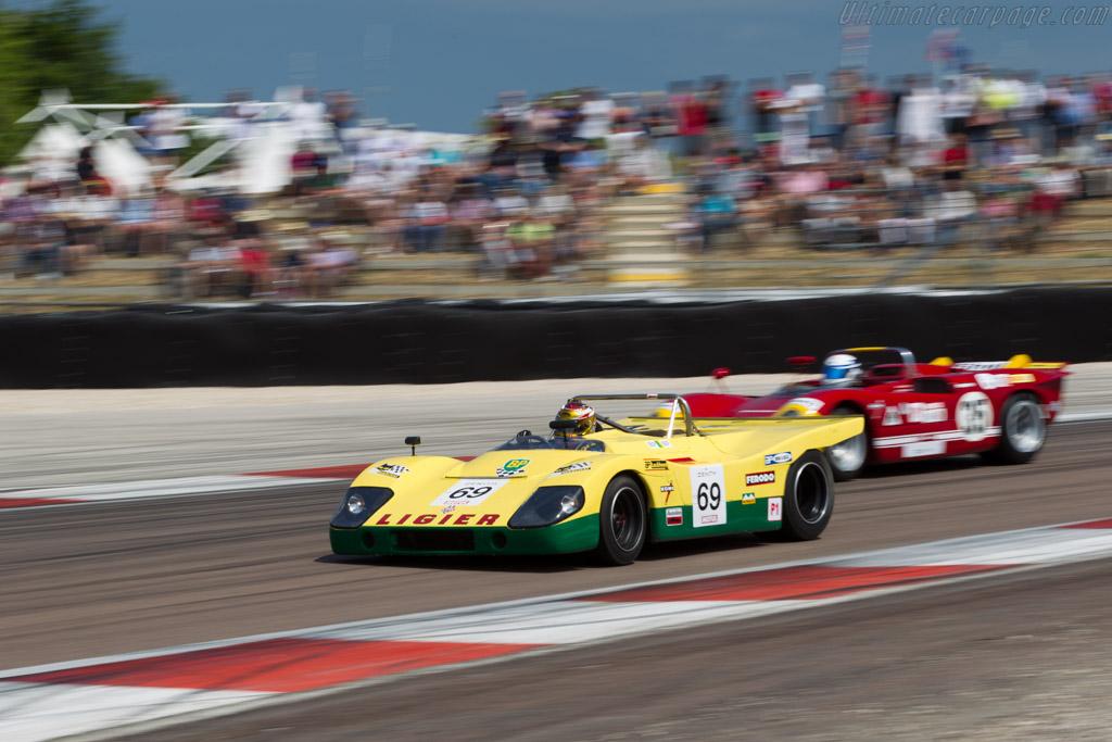 Ligier JS3 Cosworth - Chassis: JS3-01 - Driver: Mr John of B. / Guillaume Collinot  - 2015 Grand Prix de l'Age d'Or