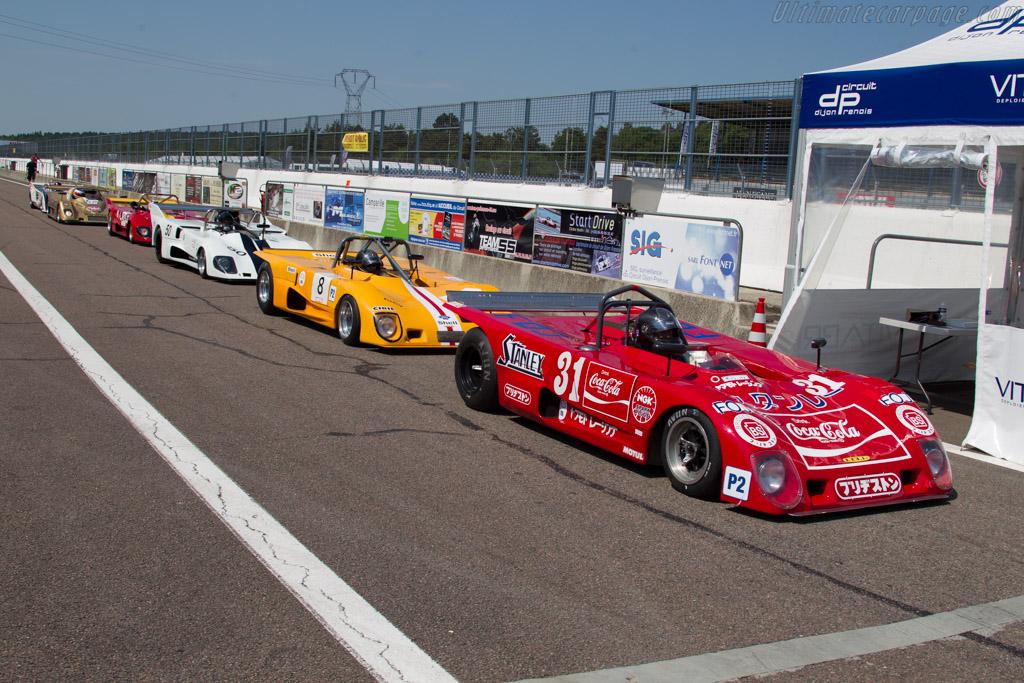 Lola T280 - Chassis: HU3 - Driver: Carlos Barbot - 2015 Grand Prix de l'Age d'Or