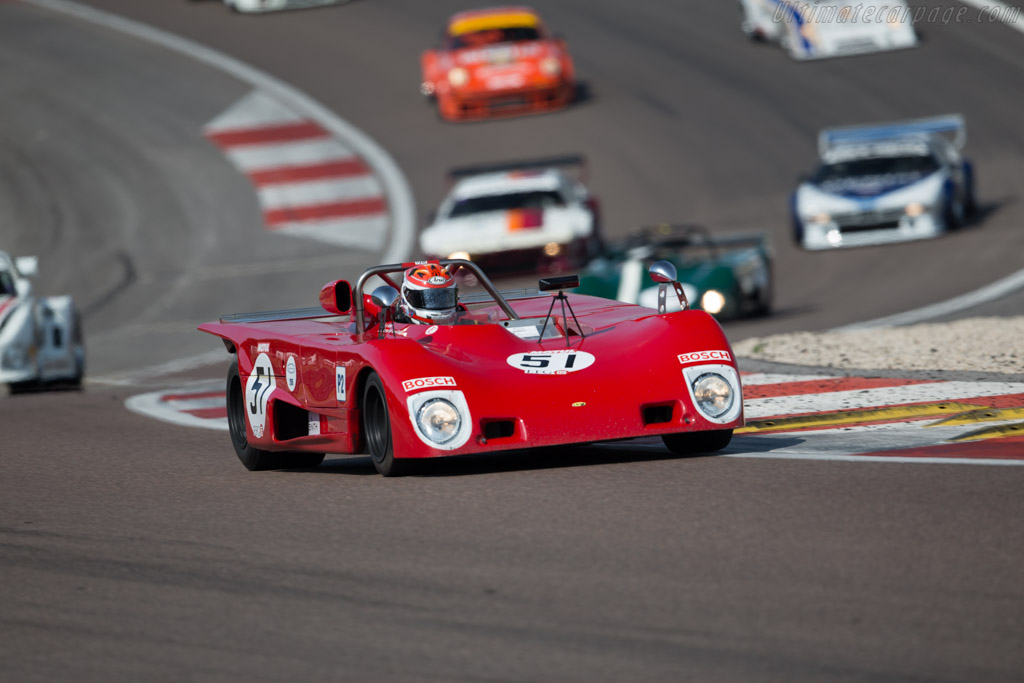 Lola T290 BDG - Chassis: HU34 - Driver: Gianluca Rattazzi / Emanuele Pirro  - 2015 Grand Prix de l'Age d'Or