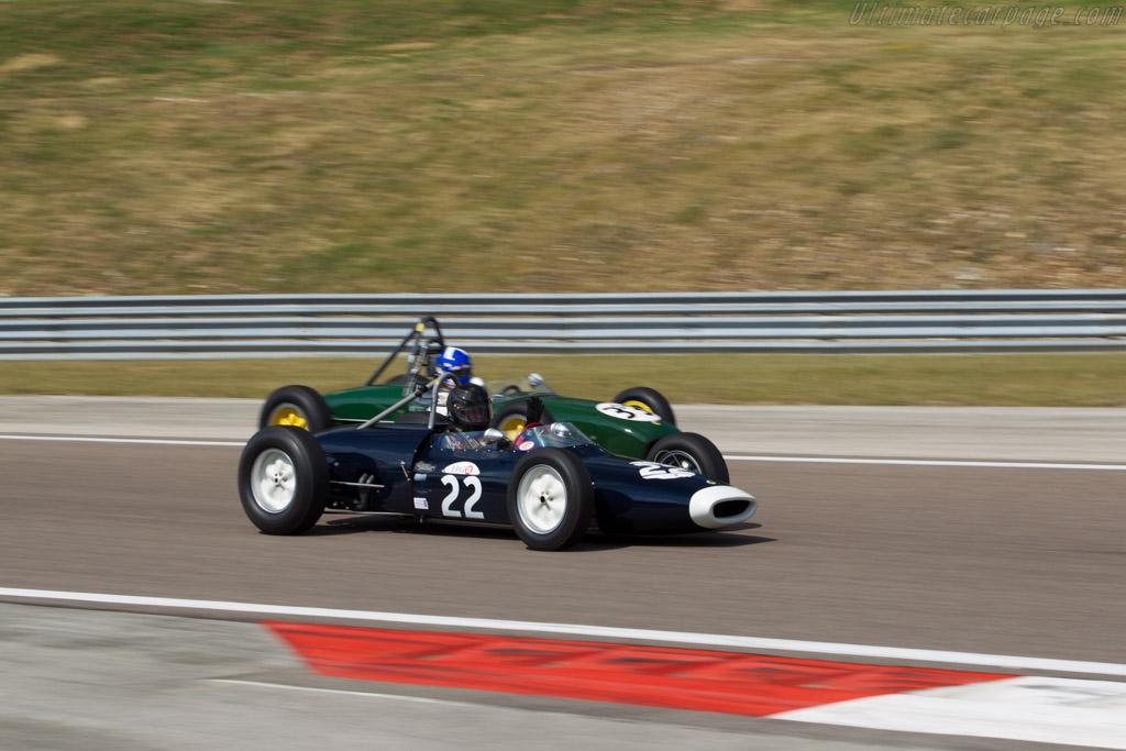 Lotus 18/21 Climax - Chassis: P1 - Driver: Peter Horsman  - 2015 Grand Prix de l'Age d'Or