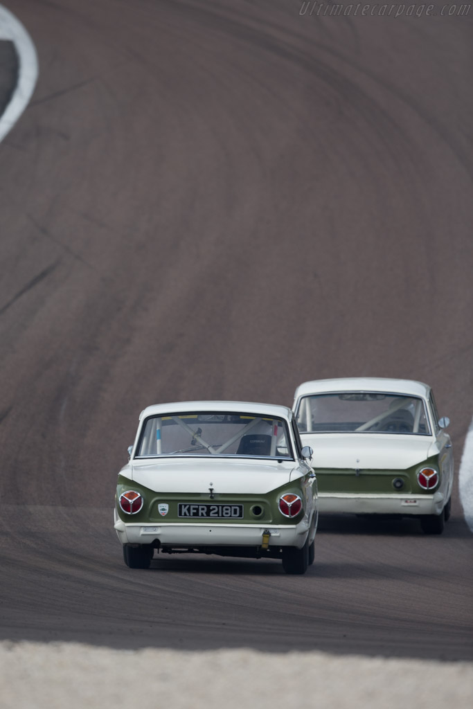 Lotus Cortina  - Driver: David Tomlin / Richard Meaden  - 2015 Grand Prix de l'Age d'Or