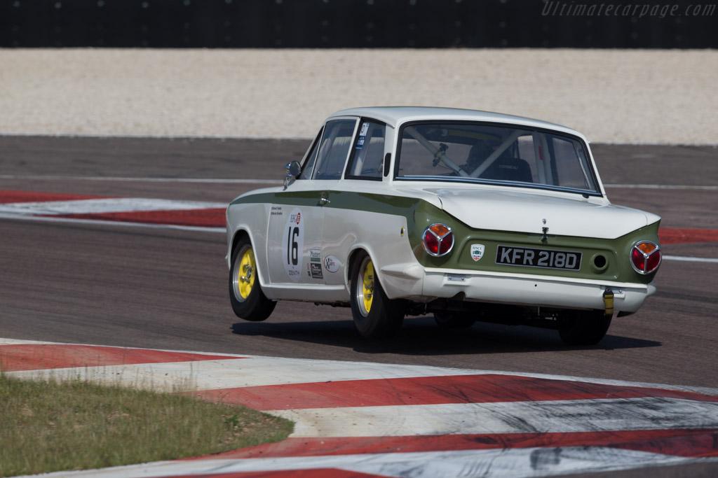 Lotus Cortina  - Driver: David Tomlin / Richard Meaden  - 2015 Grand Prix de l'Age d'Or