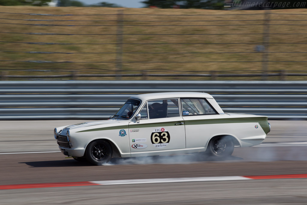 Lotus Cortina  - Driver: Grant Tromans / Richard Meaden  - 2015 Grand Prix de l'Age d'Or