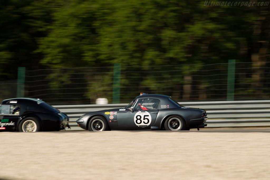 Lotus Elan 26R - Chassis: 26-R-9 - Driver: Grant Tromans / Richard Meaden  - 2015 Grand Prix de l'Age d'Or