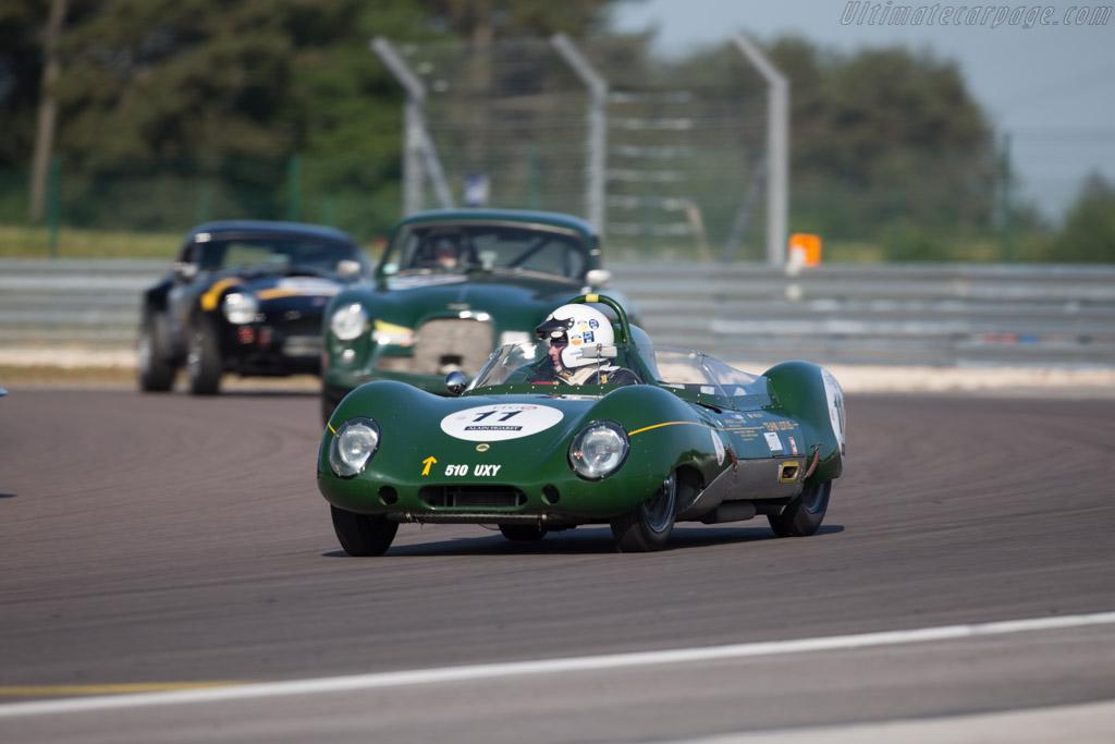 Lotus Eleven 1500  - Driver: Patrick Hello  - 2015 Grand Prix de l'Age d'Or