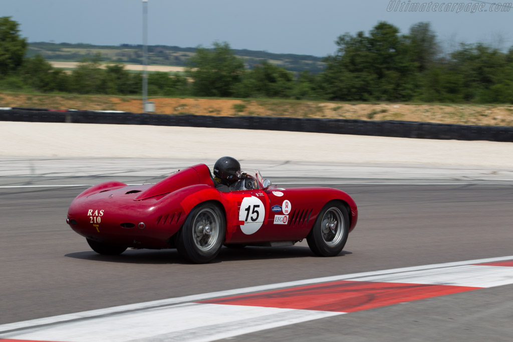 Maserati 300S - Chassis: 3054 - Driver: Stephan Rettenmaier  - 2015 Grand Prix de l'Age d'Or