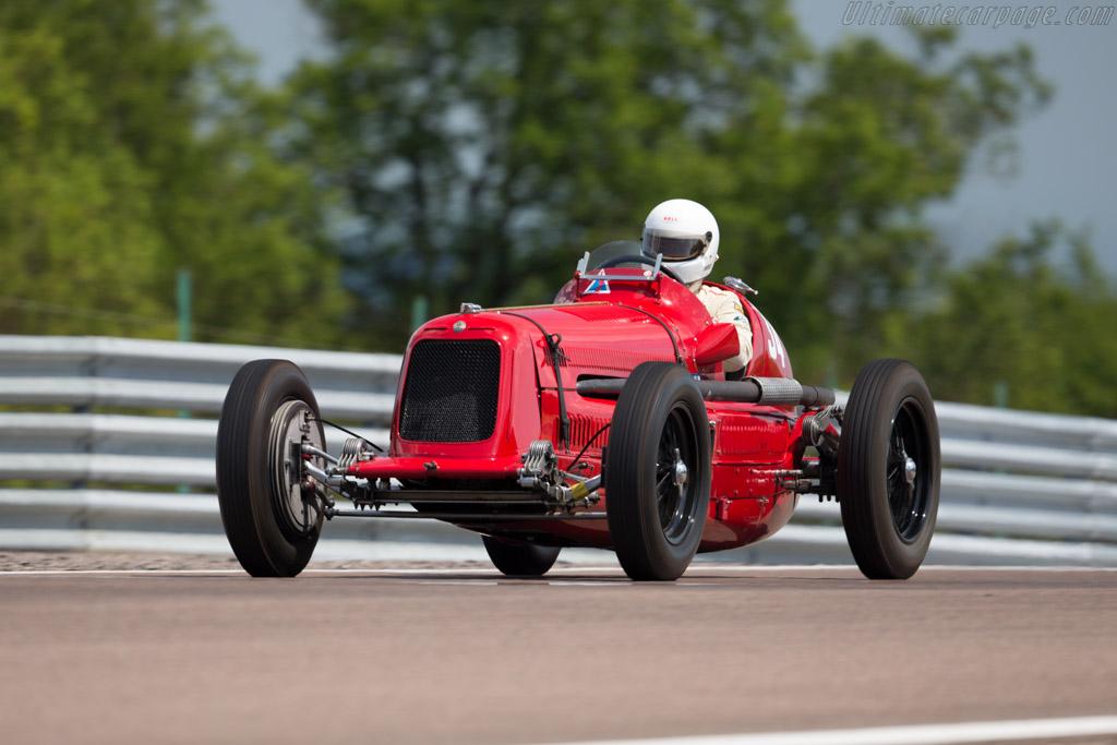 Maserati 6C 34 - Chassis: 3023 - Driver: Josef Rettenmaier  - 2015 Grand Prix de l'Age d'Or
